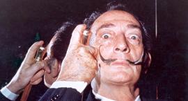 סלבדור דאלי צייר שנות ה-60 , צילום: getty