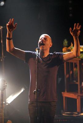 פנאי להקת רוקפור ב הופעה ב בארבי, צילום: אוראל כהן