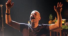 """רוקפור בהופעה בבארבי בת""""א, צילום: אוראל כהן"""