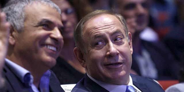 ראש הממשלה בנימין נתניהו ושר האוצר משה כחלון , צילום: עמית שעל