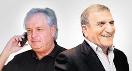 מימין צדיק בינו ו שאול אלוביץ', צילום: אלי דסה, אוראל כהן