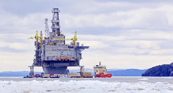 """קידוח נפט בחופי קנדה. """"בפרויקט שאליו נכנסנו בקנדה יש פוטנציאל של מיליארד חביות נפט"""""""