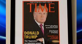 טראמפ שער מזויף טיים, צילום: Washington post