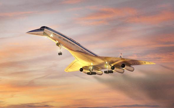 מטוס הבואינג 2707 - הבואינגקורד בכל הדרו