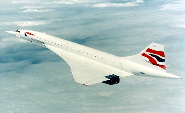 מטוס הקונקורד הבריטי-צרפתי