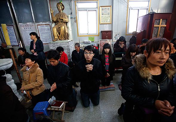כנסייה סודית בטיאנג'ין, סין