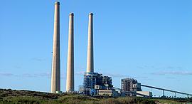 תחנת כוח ארובות חדרה חברת החשמל , צילום: ויקיפדיה