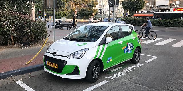 """השקה שקטה לפרויקט הרכב השיתופי אוטו תל של עיריית ת""""א"""