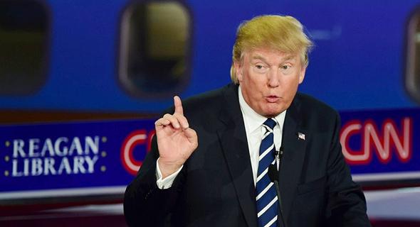 """דונלד טראמפ, נשיא ארה""""ב"""