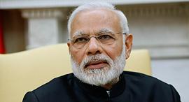ראש ממשלת הודו נרנדרה מודי , צילום: איי פי