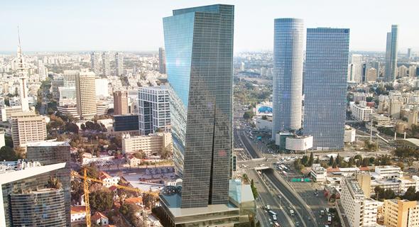 """מגדל שרונה ב תל אביב, צילום: AIKO , משה צור אדריכלים בע""""מ"""