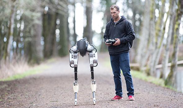 קאסי הרובוט יען, צילום: state university
