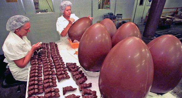מפעל שוקולד באוסטרליה, צילום: רויטרס
