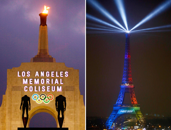 פריז ולוס אנג'לס