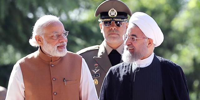 הודו מקדמת קשרים אסטרטגיים גם עם איראן