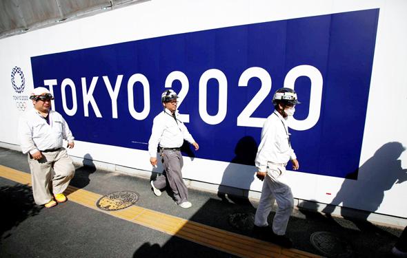 עבודות לקראת טוקיו 2020, צילום: רויטרס