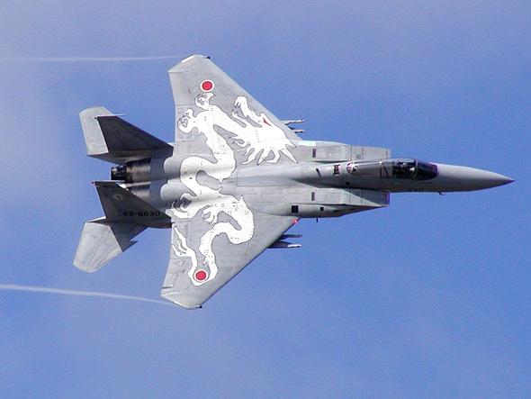 מטוס F15 של חיל האוויר היפני