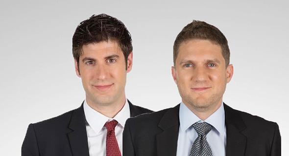 מייסדי החברה. מימין: גיא גוזנר, דן אמיגה