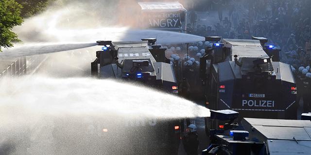 עימותים אלימים בהמבורג לפני ועידת G20