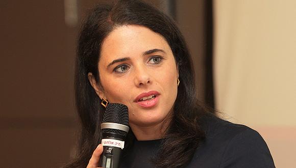 איילת שקד בכנס, צילום: אוראל כהן