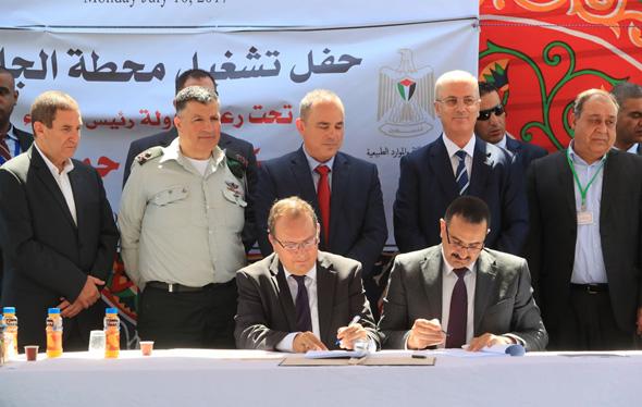 יובל שטייניץ חברת החשמל הרשות הפלסטינית ג'נין, צילום: יוסי וייס