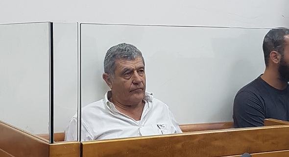 מיקי גנור אמש בבית המשפט