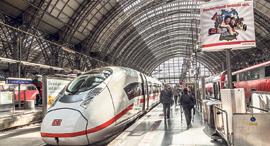 תחנת רכבת בפרנקפורט, צילום: שאטרסטוק