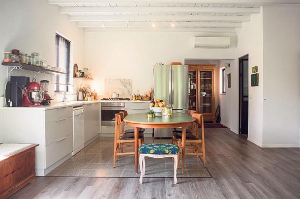 המטבח ופינת האוכל, צילום: תומי הרפז