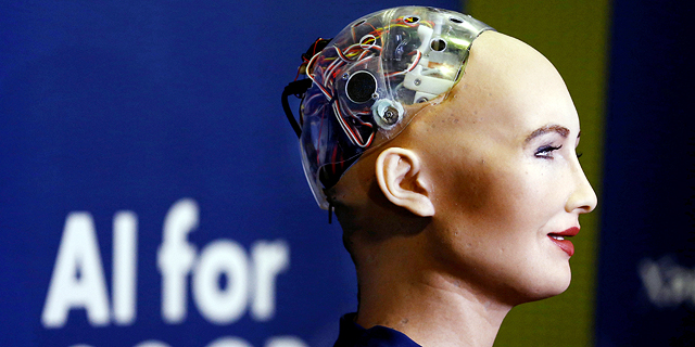 Humanoid robot Sophia. Photo: Reuters