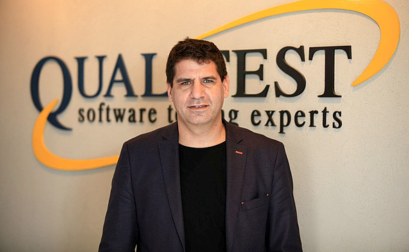 Qualitest co-founder and CEO Ayal Zylberman. Photo: Shai Oknin