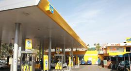 תחנת דלק של פז. דמי השכירות עומדים על 20־30 אגורות לליטר, צילום: שאול גולן