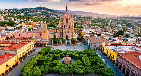 סן מיגל דה איינדה, מקסיקו, צילום: גטי אימג