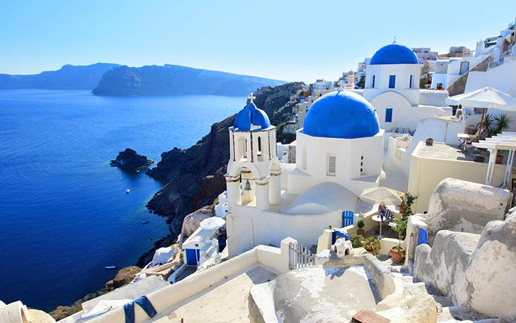 מקום 5. סנטוריני, יוון