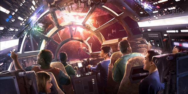 דיסני הולכת על פארקי שעשועים בהשראת מלחמת הכוכבים