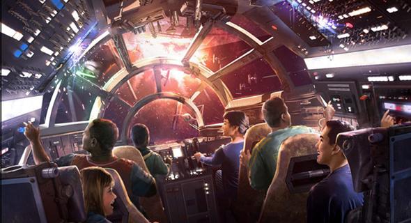 פארק שעשועים דיסני פלורידה מלחמת הכוכבים 6, צילום: Disney