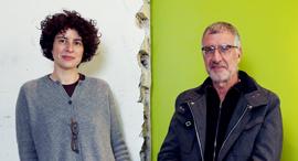 פנאי יהושע קסטיאל ו דפנה קסטיאל ב חנות, צילום: צביקה טישלר