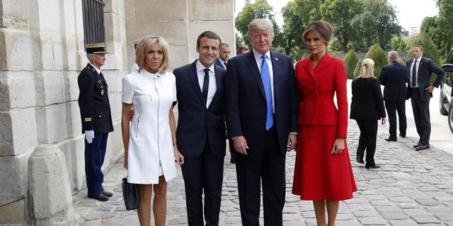 ריבוק מלגלגת על טראמפ בעקבות הערה סקסיסטית לאשת נשיא צרפת
