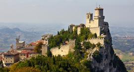 סן מרינו מצודת גואיטה, צילום: Max Ryazanov
