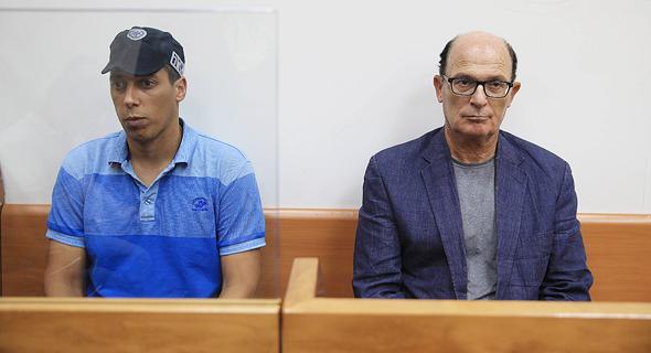בר יוסף בהארכת מעצרו, צילום: אוראל כהן