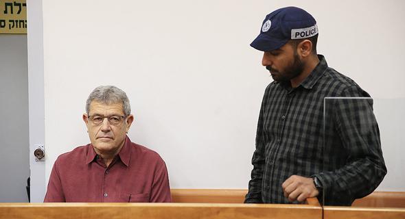 הארכת מעצר צוללות מיקי גנור 17.7.17, צילום: אוראל כהן