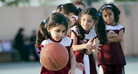 """ילדות בסעודיה. """"בהתאם לסטנדרטים של חוקי האסלאם"""", צילום: איי פי"""