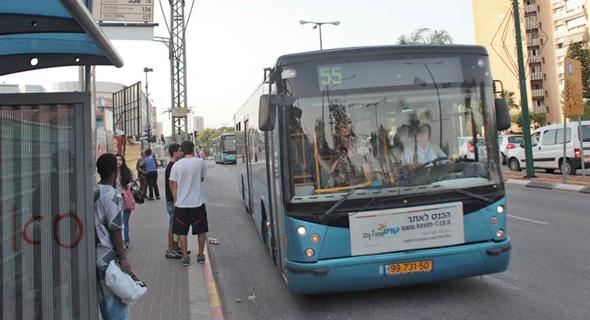 אוטובוס של חברת קווים, צילום: ענר גרין