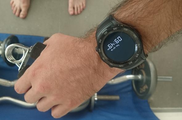 שעון חכם וואווי Watch 2 מחשוב לביש וידיאו, צילום: ניצן סדן