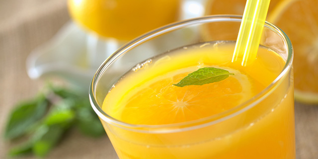 Fresh orange juice. Photo: Shutterstock