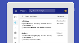 גוגל Hire חיפוש עובדים משאבי אנוש, צילום: Google Hire