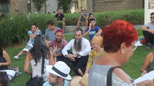 ההפגנה בתל אביב