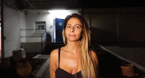 ענבל אור יוצאת ממעצר מ כלא נווה תרצה 1, צילום: טל שחר