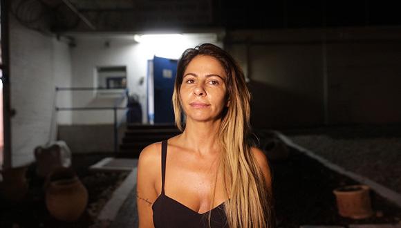"""ענבל אור באחד הדיונים בביהמ""""ש, צילום: טל שחר"""