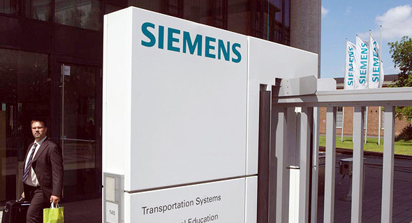 Siemens. Photo: Bloomberg