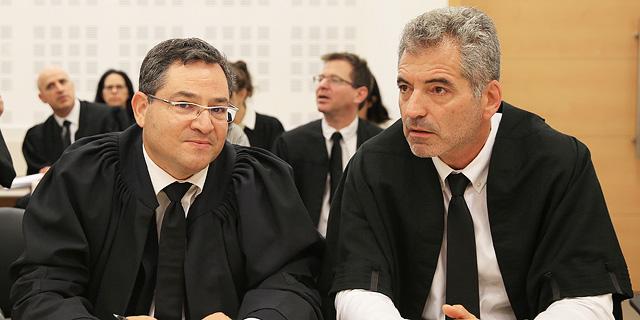 עורכי הדין רם דקל ורונן עדיני, צילום: אוראל כהן